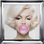 Tableau MARILYN chewing gum, 72x72