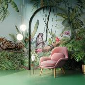 Papier peint jungle et animaux Savage