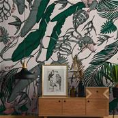 Papier peint haut de gamme jungle Tropical Foliage